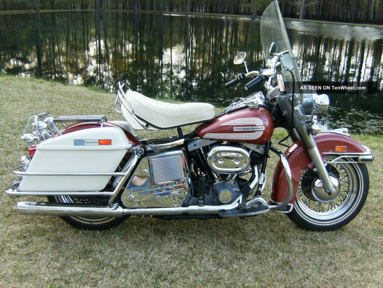 Harley-davidson 1200 Flh 1976